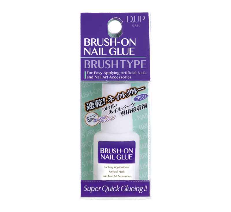 D-UP BRUSH-ON NAIL GLUE
